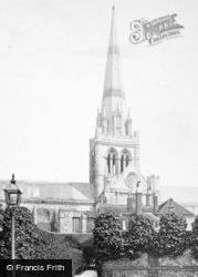 Chichester, Cathedral c.1890