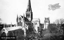 Chichester, Cathedral c.1930