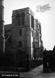 Chichester, Cathedral c.1950
