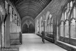 Chichester, Cathedral Cloisters 1923