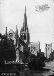 Chichester, Cathedral From The North East 1890