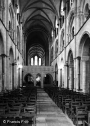 Chichester, Cathedral Interior c.1965