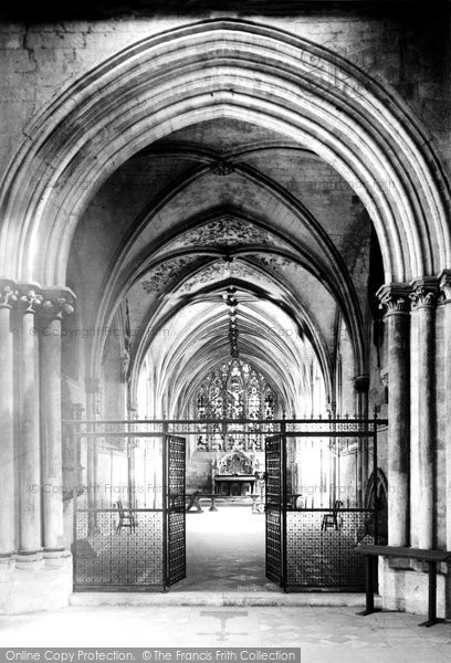 Photo of Chichester, Cathedral Lady Chapel 1890