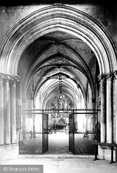 Cathedral Lady Chapel 1890, Chichester