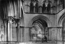 Chichester, Cathedral Lady Chapel 1890