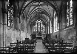 Chichester, Cathedral Lady Chapel 1923