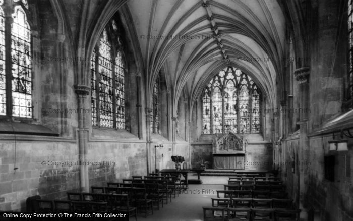 Photo of Chichester, Cathedral Lady Chapel c.1965