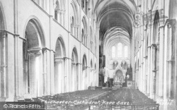 Chichester, Cathedral, Nave East 1890