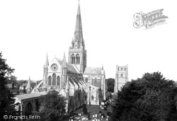 Chichester, Cathedral, North East 1892