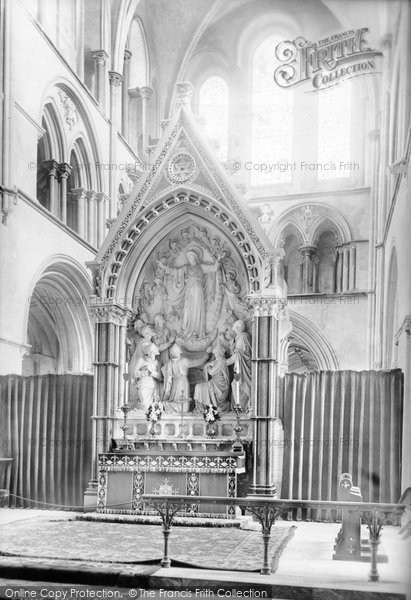 Photo of Chichester, Cathedral Reredos 1892