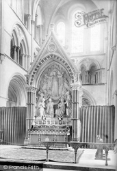 Chichester, Cathedral Reredos 1892