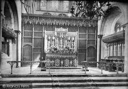 Chichester, Cathedral Reredos 1923