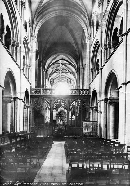 Photo of Chichester, Cathedral Screen 1892