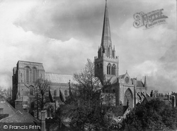 Chichester, Cathedral South West 1906