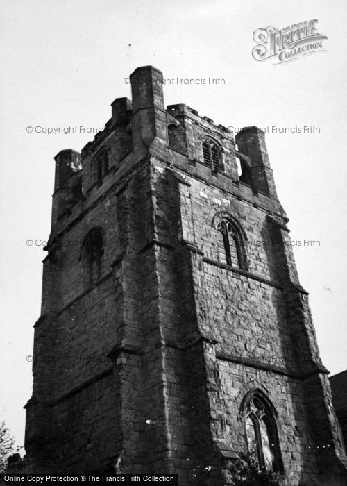 Photo of Chichester, Cathedral Tower c.1950