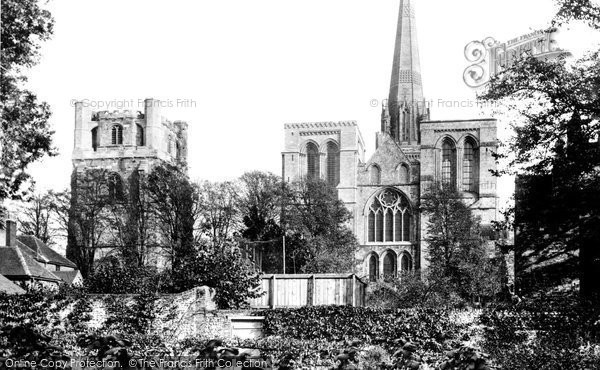 Photo of Chichester, Cathedral West Front 1906