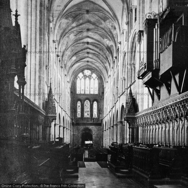 Photo of Chichester, Cathedral, West Windows c.1890