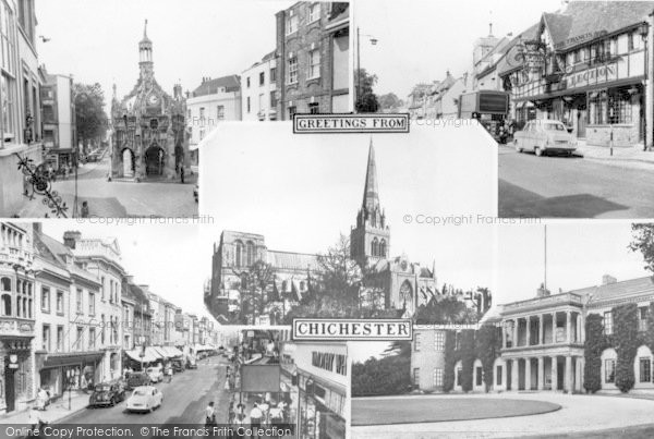 Photo of Chichester, Composite c.1960