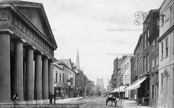 Photo of Chichester, East Street 1890