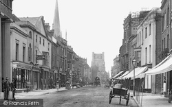 Chichester, East Street 1890