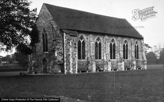 Photo of Chichester, Grey Friars c.1950