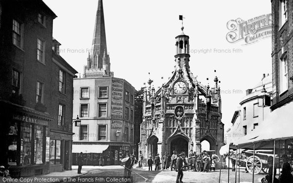 Photo of Chichester, Market Cross 1890