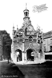 Chichester, Market Cross 1898