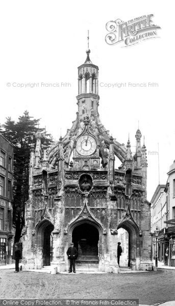 Photo of Chichester, Market Cross 1903