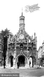 Chichester, Market Cross 1903