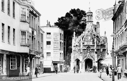 Chichester, Market Cross 1923