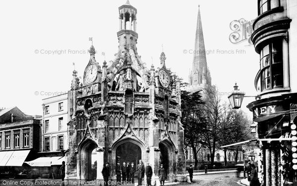 Photo of Chichester, Market Cross And The Cathedral 1903