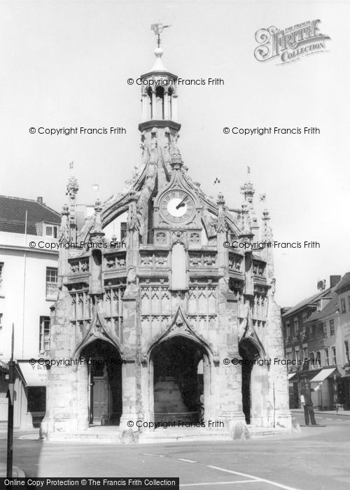 Photo of Chichester, Market Cross c.1955