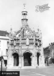 Chichester, Market Cross c.1955