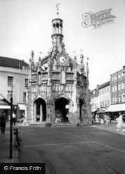 Chichester, Market Cross From South Street c.1960
