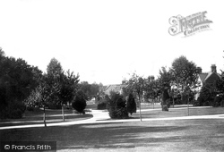 Chichester, New Park 1898
