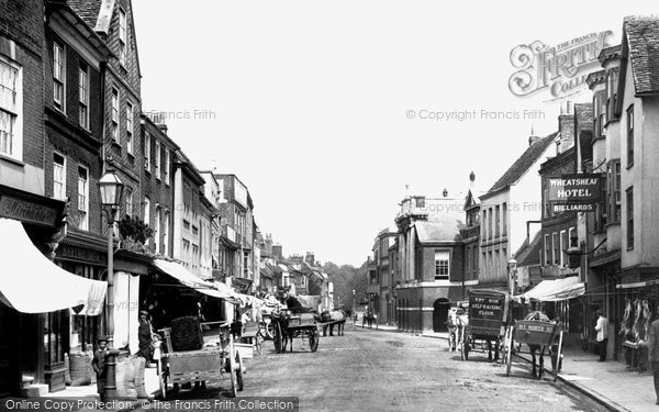 Photo of Chichester, North Street 1898