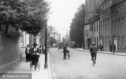 Chichester, People, West Street 1923