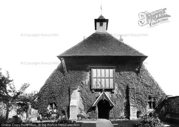 Photo of Chichester, St Mary's Almshouses 1898