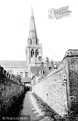 Chichester, The Cathedral c.1960