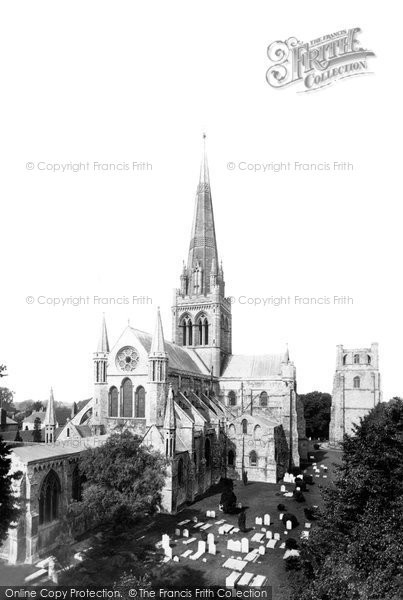 Photo of Chichester, the Cathedral, from the north east 1892, ref. 29984