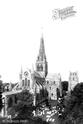 The Cathedral, From The North East 1892, Chichester
