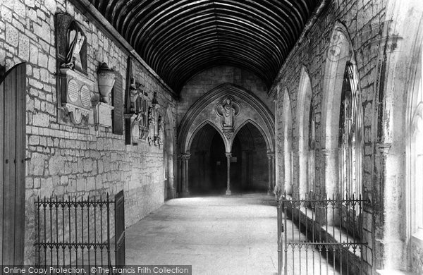 Photo of Chichester, The Cathedral, The Cloisters And St Richard's Porch 1892