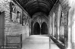 Chichester, The Cathedral, The Cloisters And St Richard's Porch 1892