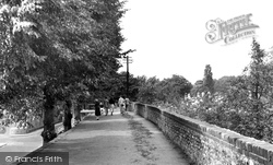 Chichester, The City Walls c.1955