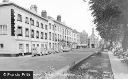 Chichester, The Cross And Dolphin Hotel c.1960