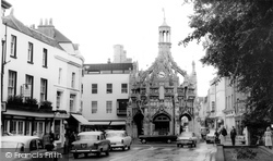 Chichester, The Cross c.1965