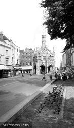 Chichester, The Cross From West Street c.1960