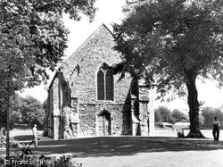 Chichester, The Greyfriars, Priory Park c.1955