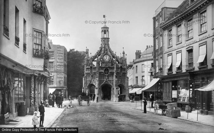 Photo of Chichester, The Market Cross 1890