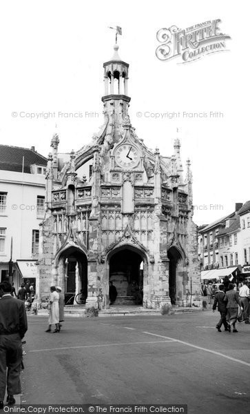 Photo of Chichester, The Market Cross c.1955